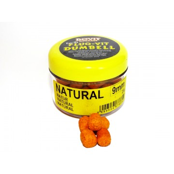 Natural Fluo-Vit Dumbell Pellet 9mm