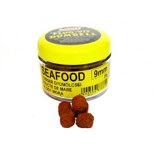 Seafood Fluo-Vit Dumbell Pellet 9mm