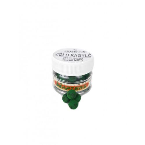 Zöld kagyló - Magic Method Wafters 8mm