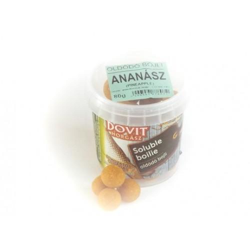 Ananászos - Oldódó bojli 14mm